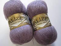 ANGORA GOLD 312 темно-лиловый - 20% шерсть, 80% акрил