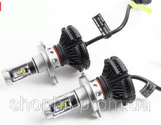 Лампа LED X3-H4, Светодиодные лампы в противотуманных фарах или фарах головного света, Лампы автомобильные