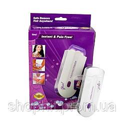 Эпилятор триммер Finishing Touch YES, Триммер женский для удаления волос на лице и теле, Женский эпилятор