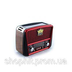 Радио RX 455 Solar, Портативный радио приемник - MP3 колонка, Колонка с солнечное панелью, Переносной динамик
