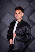 Куртка кожаная Oscar Fur 396  Черный