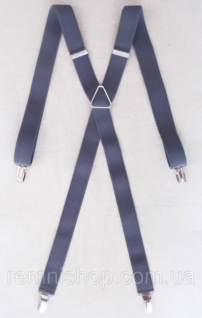 Серые женские подтяжки 25 мм