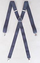 Сірі жіночі підтяжки 25 мм