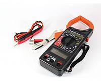 Мультиметр DT 266 FT, Токовые клещи, Токоизмерительные клещи, Цифровой мультиметр тестер, Измерительный прибор