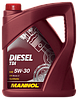 Масло моторное синтетика MANNOL Diesel TDI 5W-30 ( TDI VOLKSWAGEN) 5w30 4л
