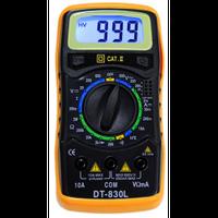 Мультиметр DT 830 L, Тестер, Прибор для измерения тока, Токоизмерительный прибор, Цифровой мультиметр