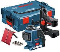 Линейный лазерный нивелир Bosch GLL 3-80 P   универсальный держатель BM1(L-boxx)