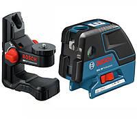 Комбинированный лазерный уровень Bosch GCL 25 + настенный держатель BM1