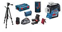 Лазерный нивелир Bosch GLL 3-80 C Professional + BM1 + 12V + L-Boxx + LR6 + BT 150 (0601063R08)