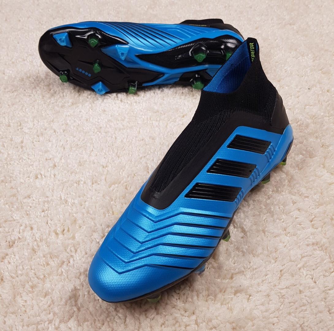 Бутсы Predator 19.1 FG/AG Hard Wired синие