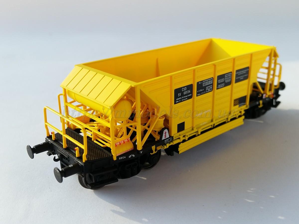 Albert Modell 36005 Вагон грузовой Хоппер дозатор для перевозки щебня  1:87