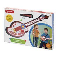 Гитара и микрофон в наборе Fisher-Price Rockstar