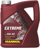 Масло моторное синтетическое MANNOL EXTREME SAE 5W-40 4л