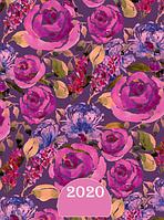 АКЦИЯ ! Ежедневник датированный А5, 2020 Buromax ESTILO,фиолетовый   BM.2165-07