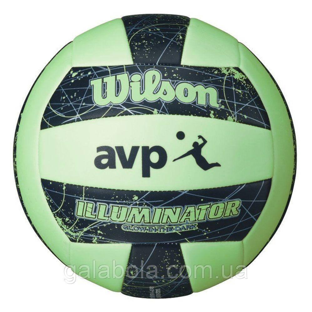 Мяч для пляжного волейбола WILSON AVP IllUMINATOR WTH4613XB (размер 5)