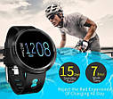 Спортивный фитнес браслет с измерением пульса и давления Smart band M58 Red, фото 2