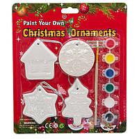 Набор для детского творчества керамика, 6 красок, кисточка, арт. (024858)