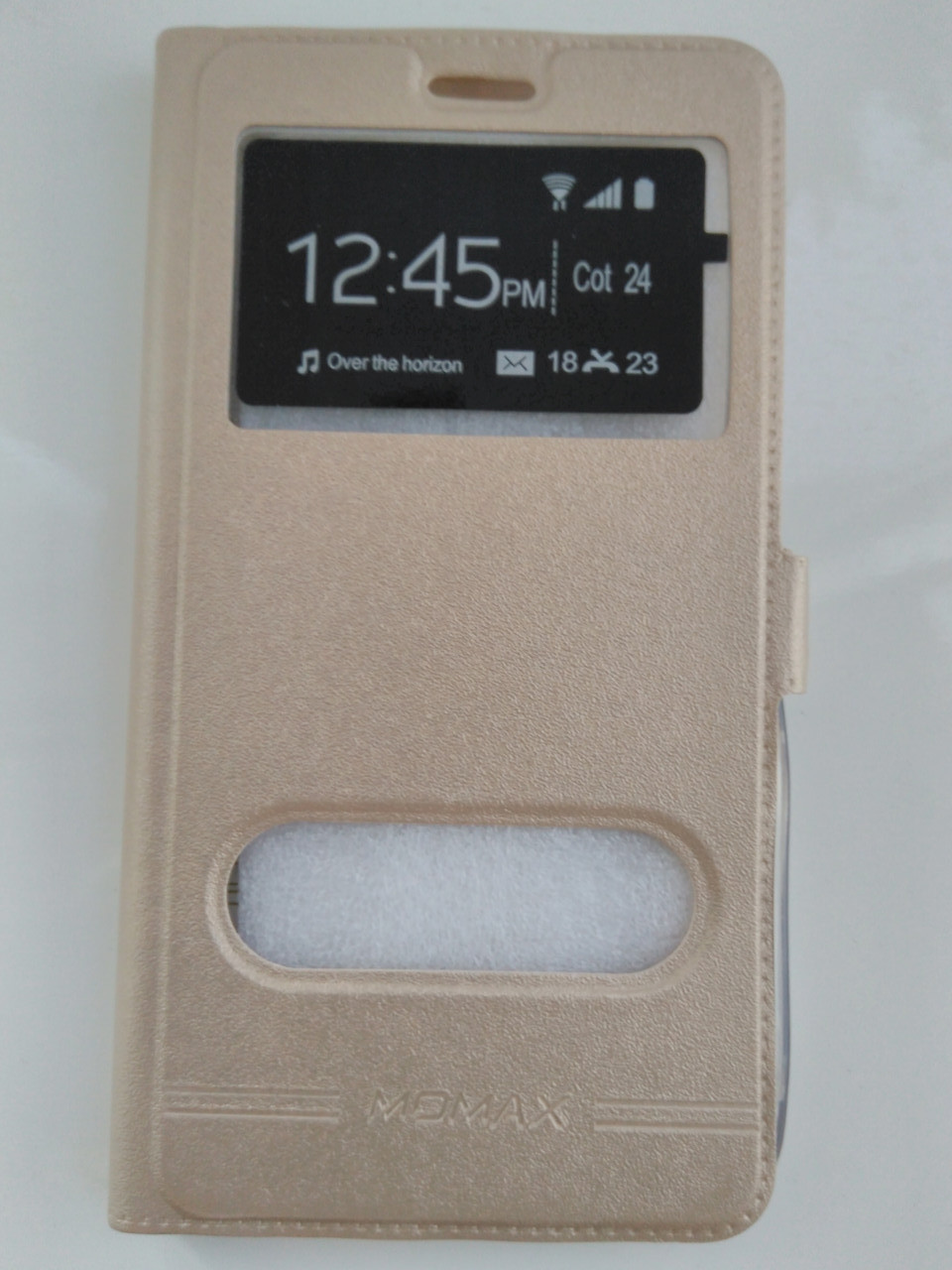 Чехол-книжка    для   Xiaomi redmi NOTE 4 / NOTE 4X (золотой)