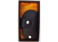 KC4 Ключница NISSAN в подарочной упаковке, Карманная ключница, Чехол для ключей, Черная ключница