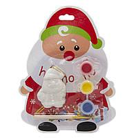 Набор для детского творчества Дед Мороз, керамика, 3 краски, кисточка, арт. (024902)