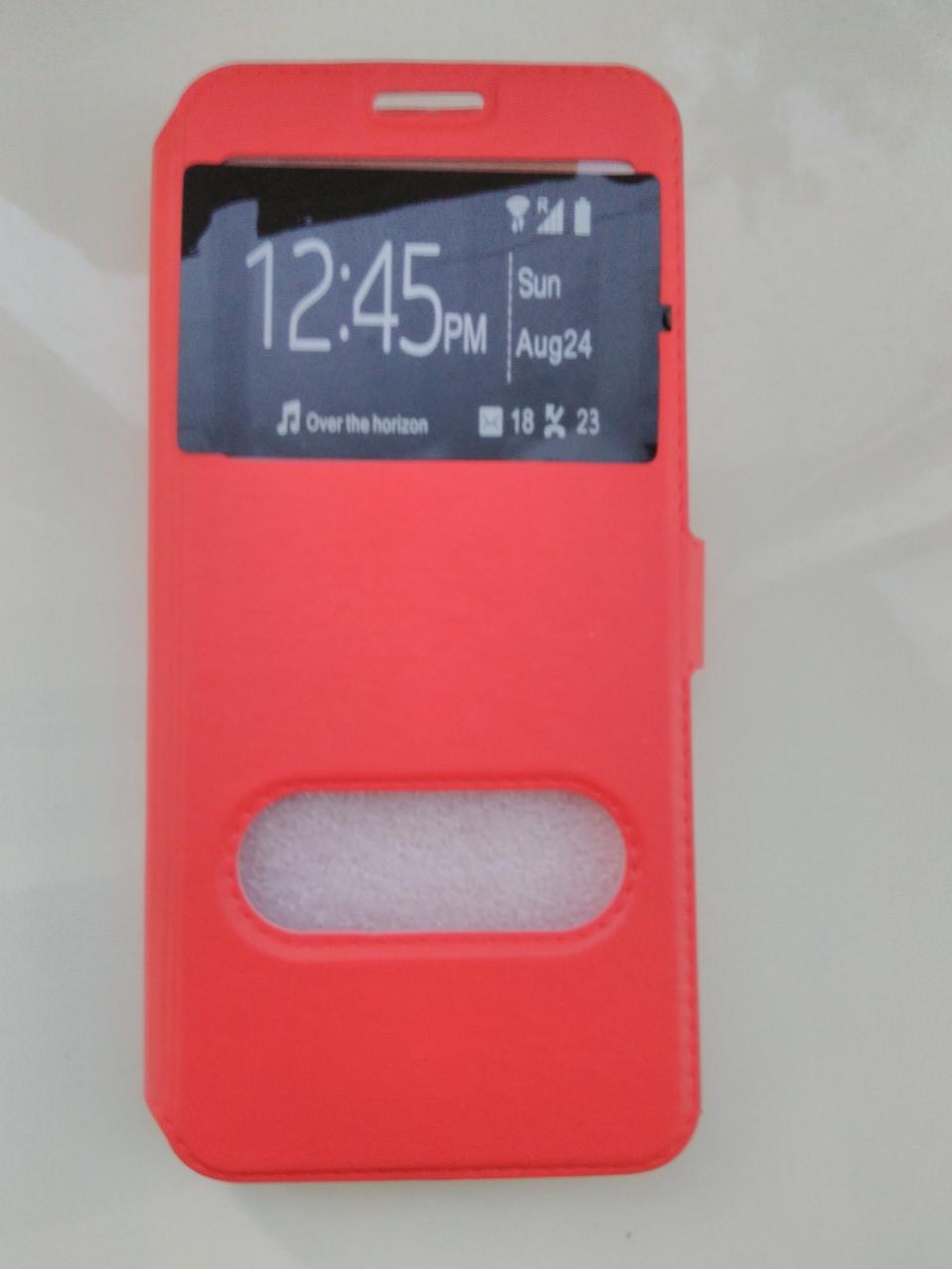 Чехол-книжка    для  Samsung S8 (красный)