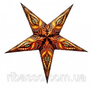 9050067 Светильник Звезда картонная 5 лучей BROWN UNICORN ZARI