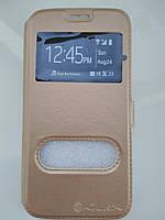 Чехол-книжка    для  Samsung  S6 (золото), фото 1