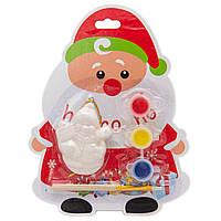 Набор для детского творчества Снеговик, керамика, 3 краски, кисточка, (024926)