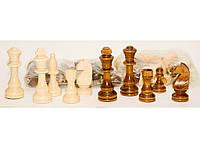 I5-57 Набор фигур шахмат огромный (max 10 см), Шахматные фигуры, Деревянные фигуры для шахмат
