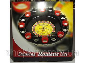I3-90 Рулетка в картоне,  Рулетка со стопками в  упаковке, Игра рулетка с рюмками, Пьяная рулетка