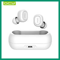 Bluetooth наушники QCY QS1 (T1) TWS БЕЛЫЕ