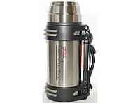 T33 Термос высокого качества (800 мл), Походный термос, Термос из нержавейки, Питьевой термос для похода