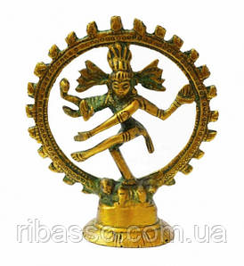 9070018 Статуэтка бронзовая Шива Натарадж