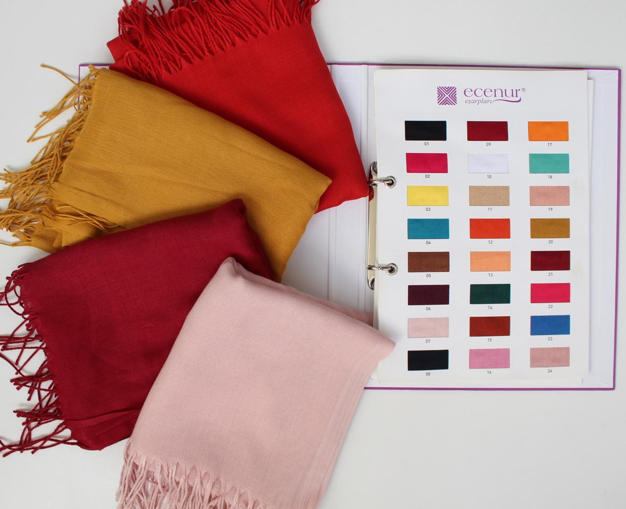 Турецкий шарф из тонкой пашмины 116-14