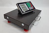 Весы торговые напольные беспроводные Rainberg WiFi 100 кг, усиленная платформа.