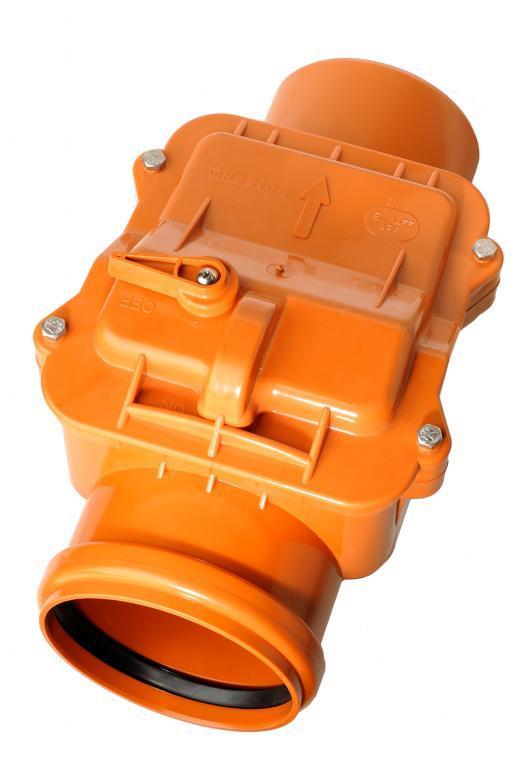 Обратный клапан для наружной канализации Инсталпласт 110