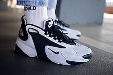Мужские кроссовки  Nike Zoom 2K  White Black ( Реплика ), фото 3
