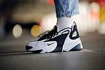 Мужские кроссовки  Nike Zoom 2K  White Black ( Реплика ), фото 2