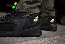 Мужские кроссовки Nike Zoom 2K Triple Black ( Реплика ), фото 3