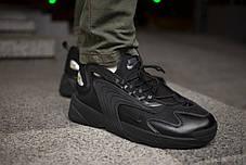 Мужские кроссовки Nike Zoom 2K Triple Black ( Реплика ), фото 2