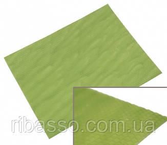 9060141 Цветная вощина листовая 10 листов Зелёная