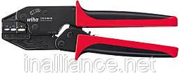Обжимной инструмент для изолированных кабельных наконечников и контактов Wiha 33841