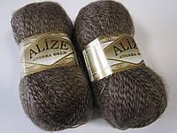 ANGORA GOLD 703 коричневый мулине - 20% шерсть, 80% акрил