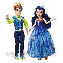 Куклы Бен и Иви Наследники Дисней Неоновые огни Disney Descendants Neon Lights Ball