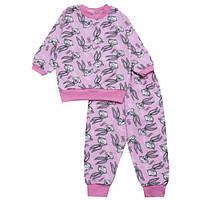 Пижама для девочки с начесом, фото 1