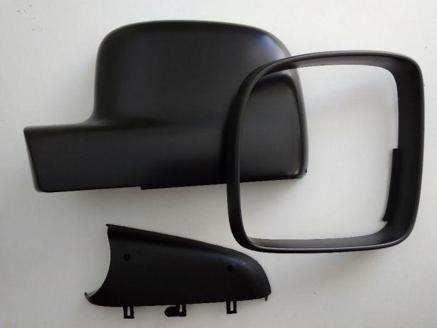 Корпус зеркала (3 части) Фольксваген Т5 ободок крышка левая