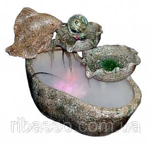 """9140043 Водопад садовый керамический """"Карп с жемчужиной"""""""