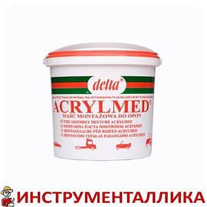 Монтажная паста Acrylmed красная с герметиком 4 кг Польша