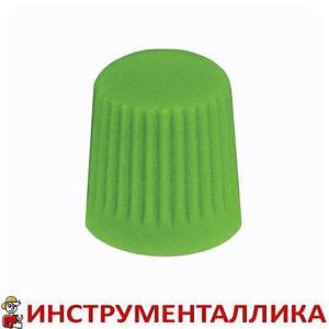 Колпачок пластиковый для вентилей зеленый