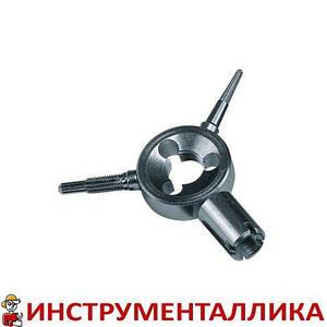 Резьбонарезатель тройной (прогонка резьбы внутри и снаружи + отвертка)